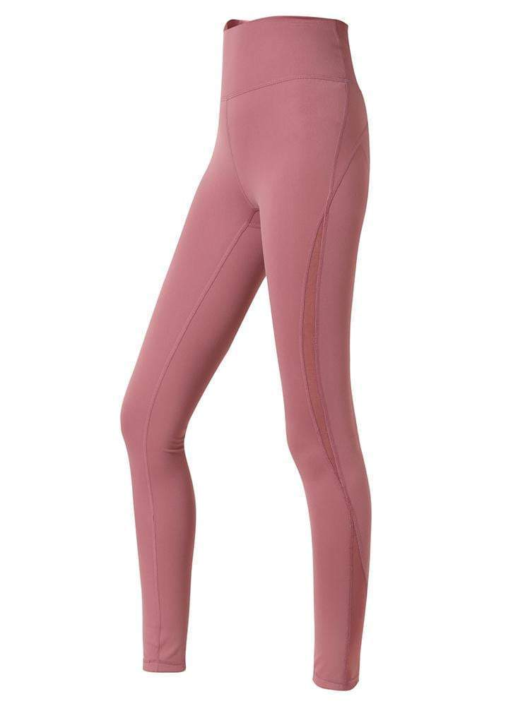 Sloli Capris Breathable Sports Tight XS / Pink