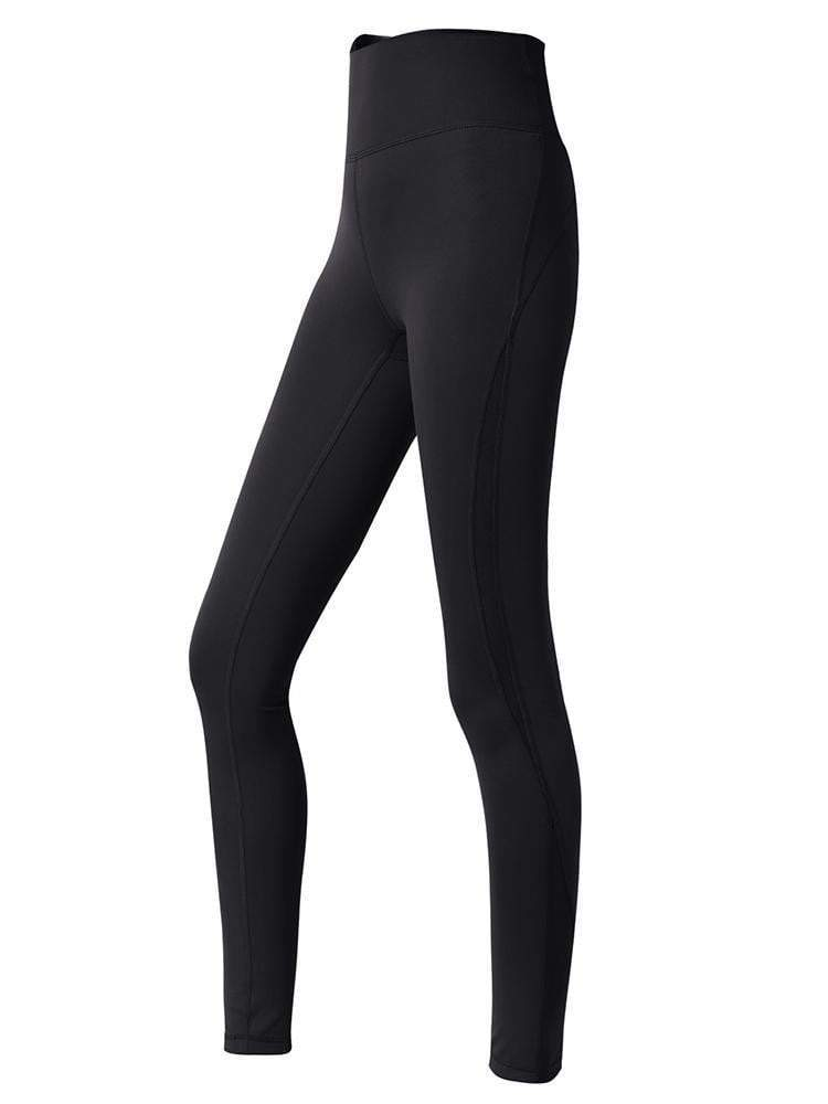 Sloli Capris Breathable Sports Tight XS / Black