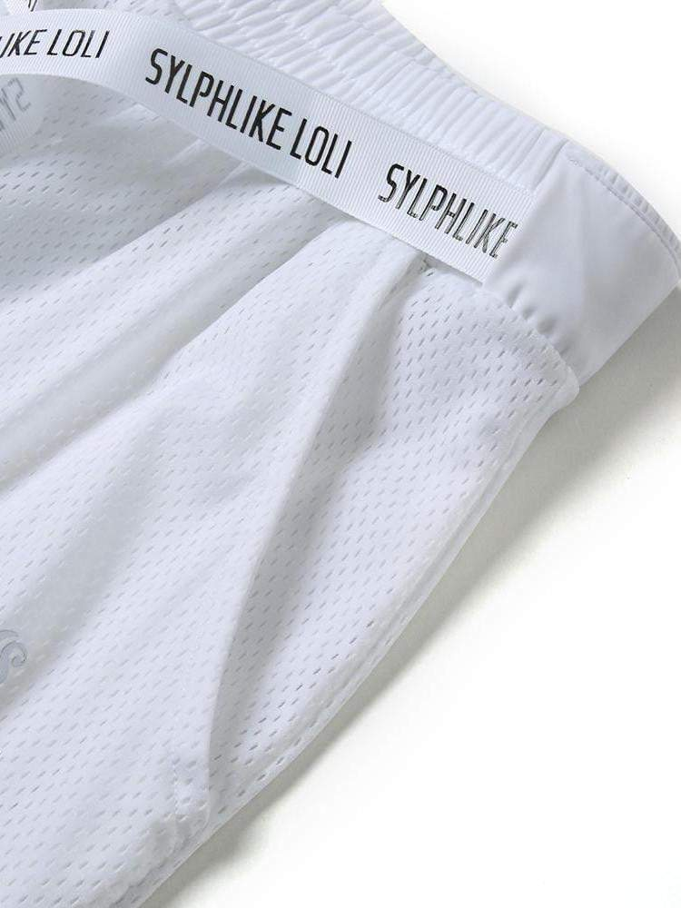 Sloli Breathable Mesh Running Pants Casual Pants