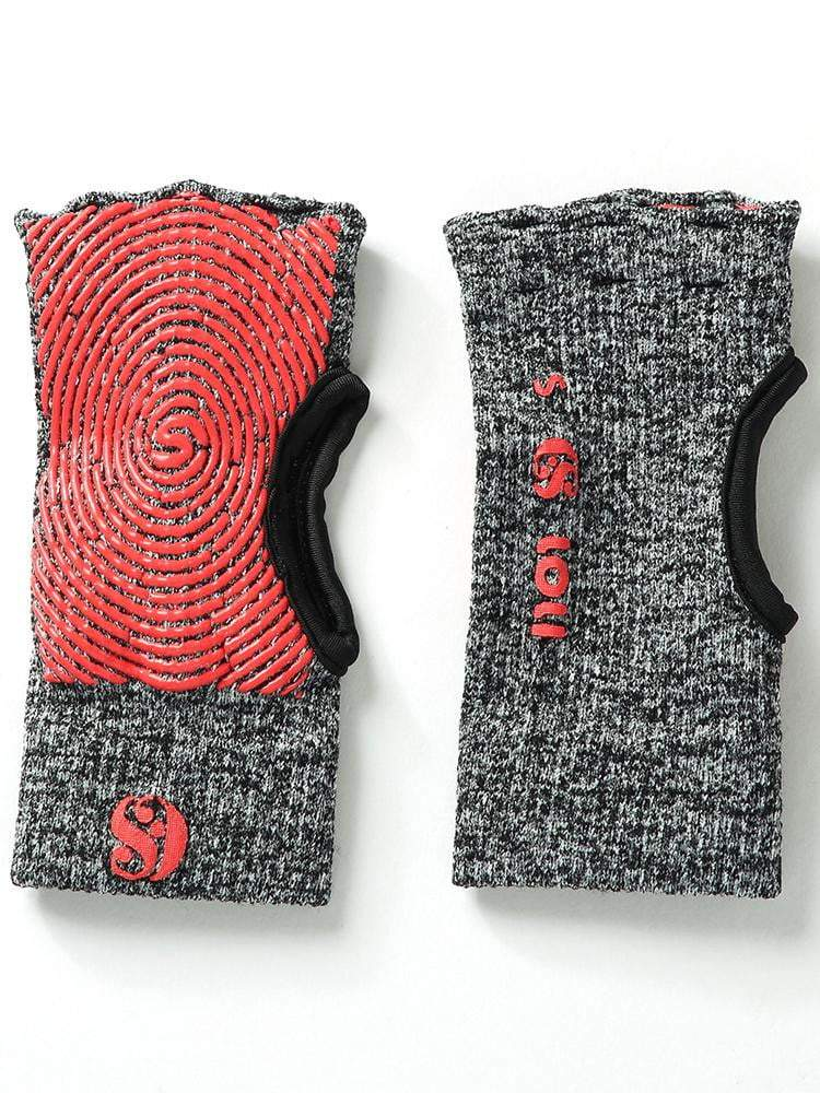 Sloli Muscle Training Gym Knit Gloves S / Red&Gray