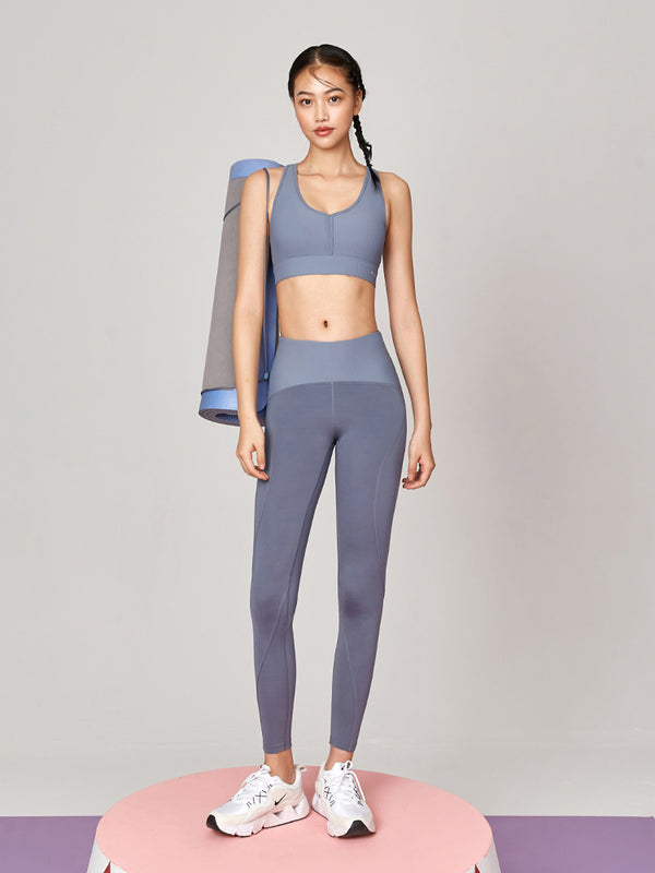 Sloli Ribbed waist leggings