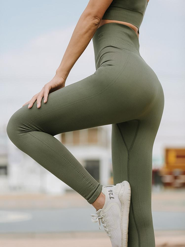 Sloli High Waist Elastic Sports Leggings