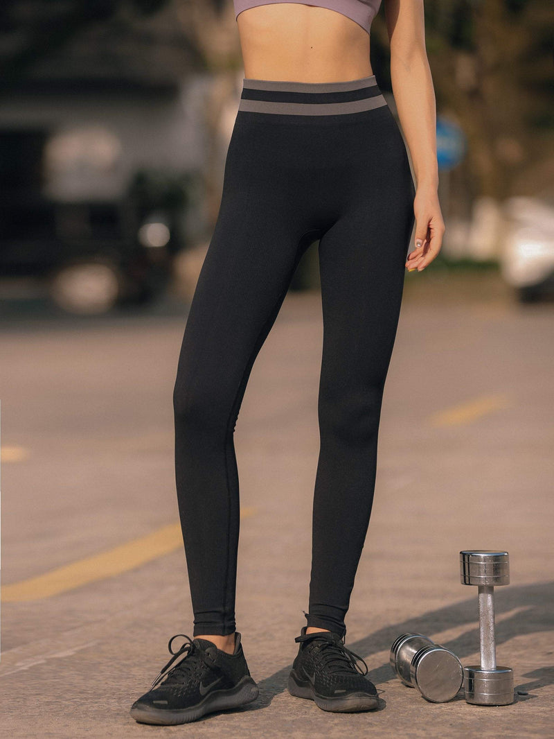 Sloli High Waist Elastic Strap Leggings