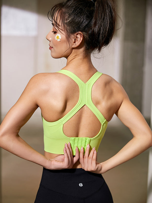 Sloli Backless Anti Vibration Sports Bra