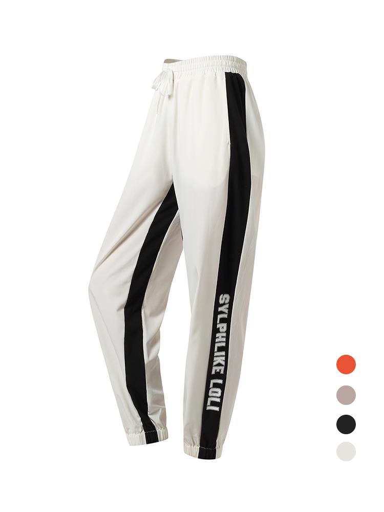 Sloli Breathable Casual Pants Sports Leggings XS / White