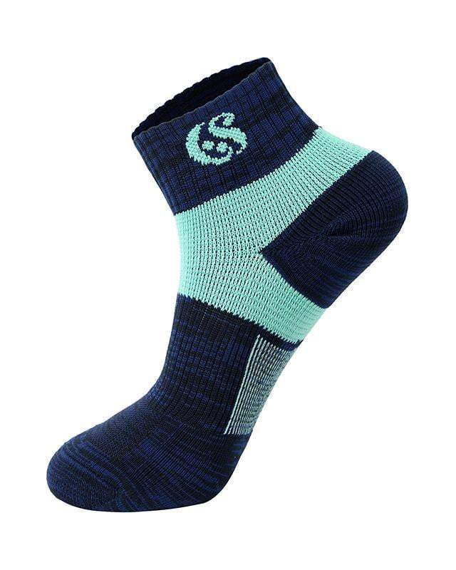 Sloli Sloli Soft Socks for Trainning In Spring/Autumn Navy