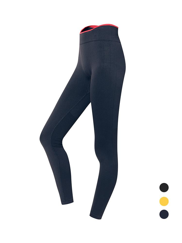 Sloli Breathable Color Scheme Sports Legging S / Navy