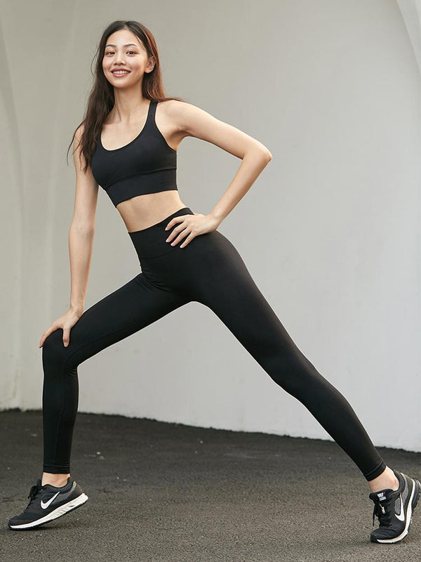 Sloli Seamless Sports Leggings - Basic Simple Design