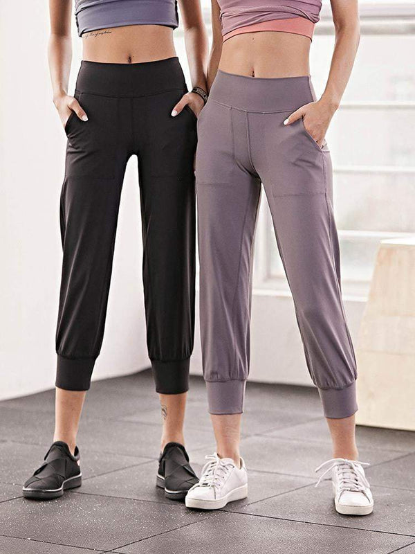 Sloli Capris Casual Running Sports Pants
