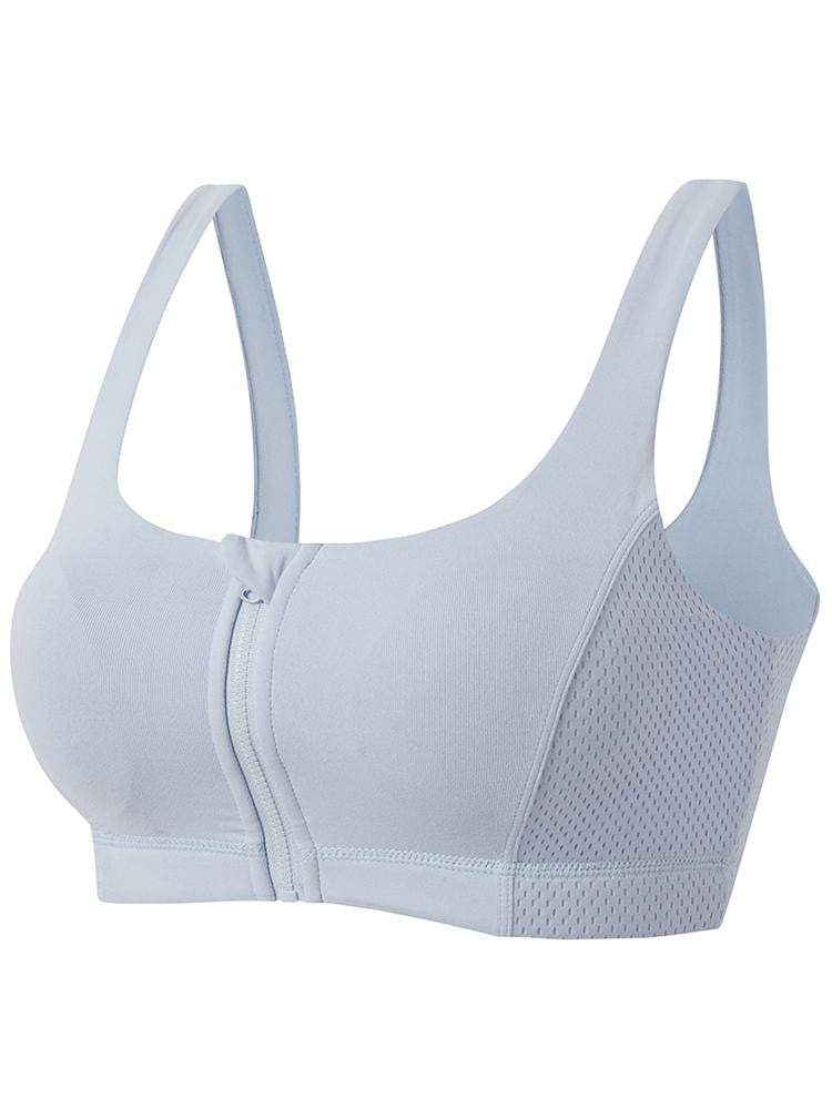 Women Yoga Front Zipper Outerdoor Bra