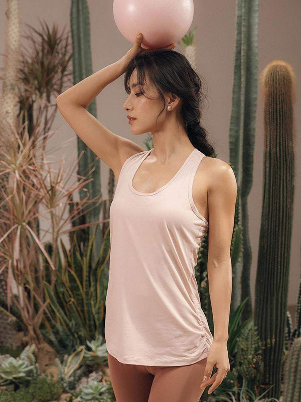 Sloli Backless Stylish Sports Tank Top Vest