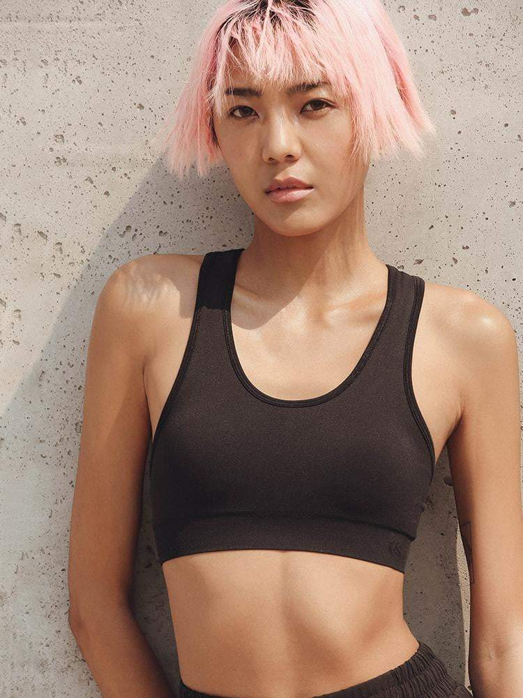 Sloli Comfortable Basic Plain Sports Bra