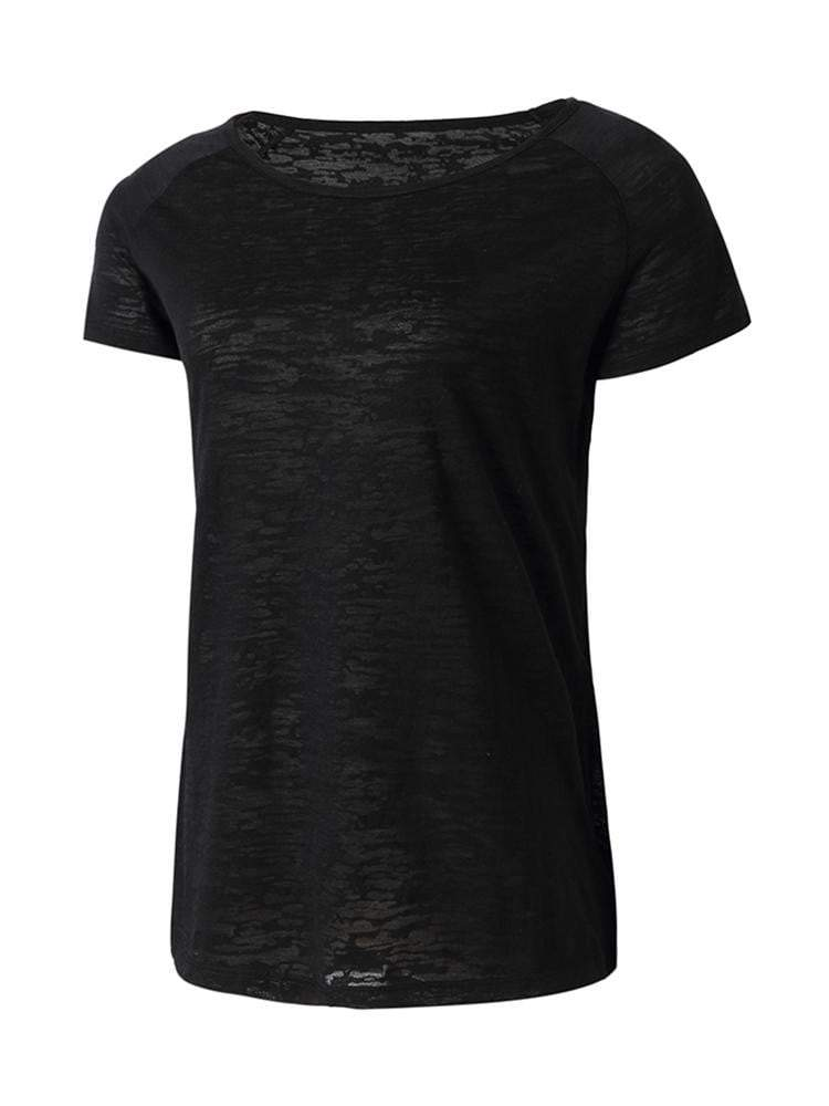 Sloli Breathable Short Sleeve Sports Shirt XS / Black