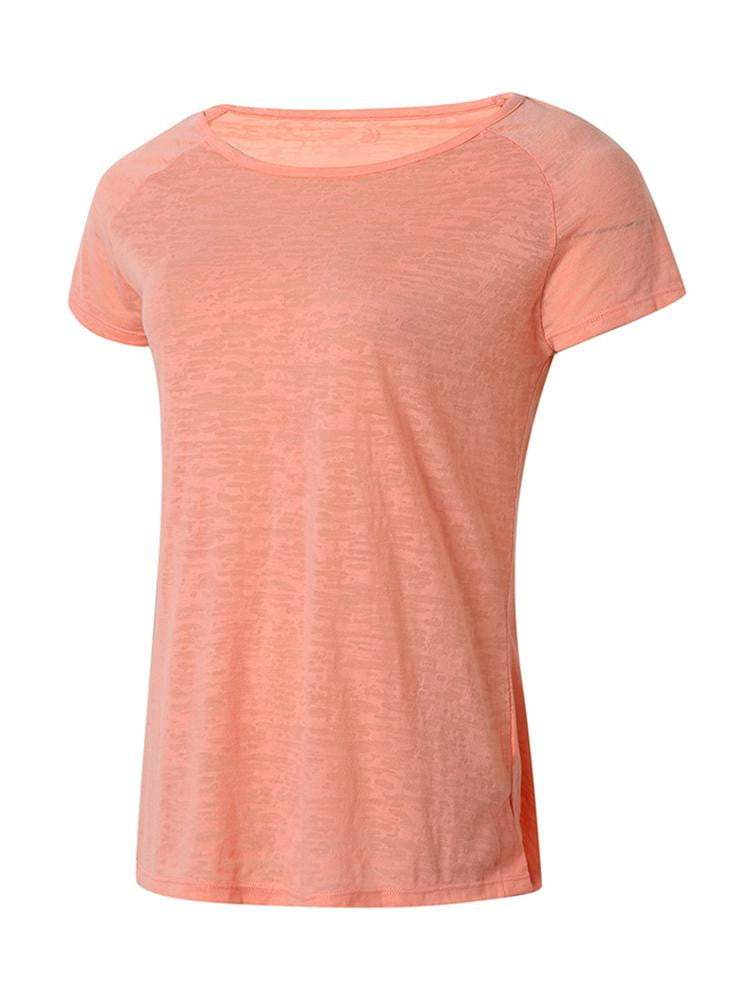 Sloli Breathable Short Sleeve Sports Shirt XS / Orange