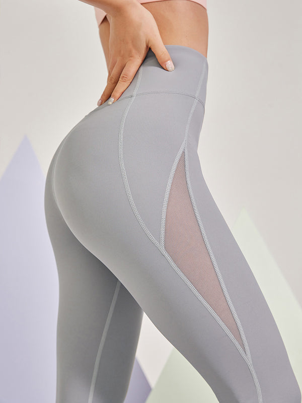 Sloli Quick Dry Mesh Switching Leggings