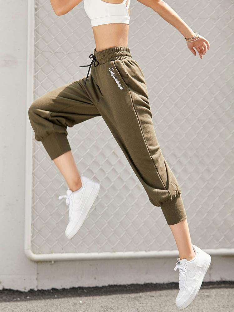 Sloli Sports Capris Casual Pants