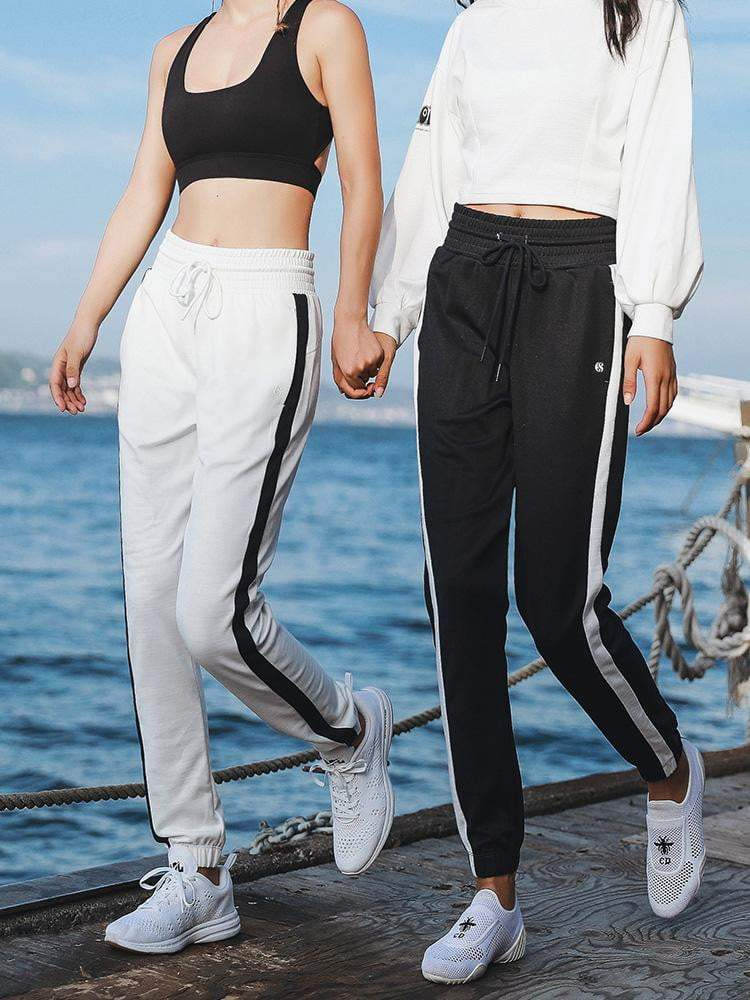 Sloli Color Scheme Casual Pants Running Pants