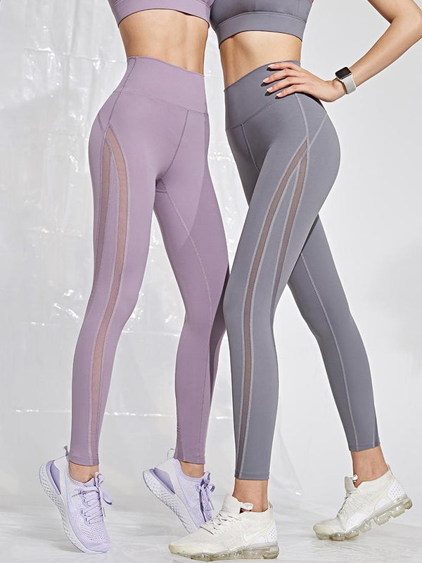 Sloli Mesh Sports Yoga Leggings