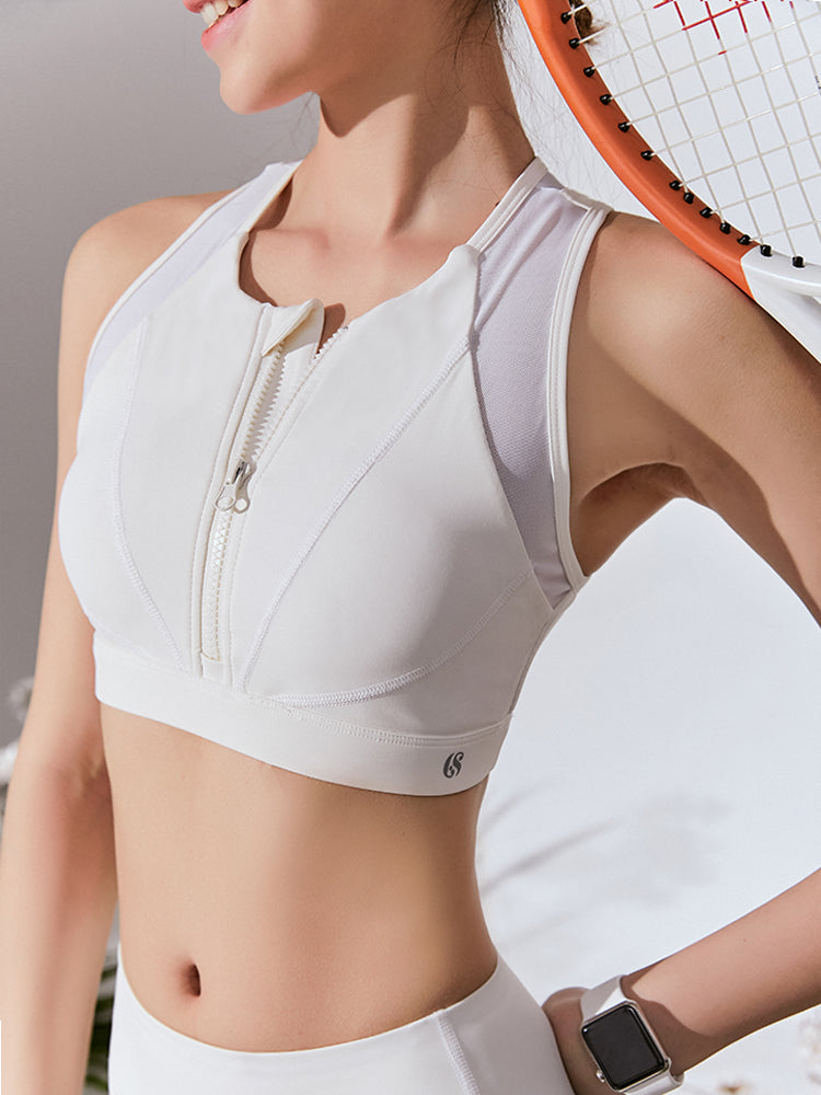 Sloli Anti-Vibration Front Opening Sports Bra