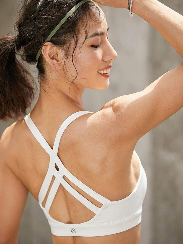 Sloli Beautiful Crossback Sports Bra for Low Intensity Training