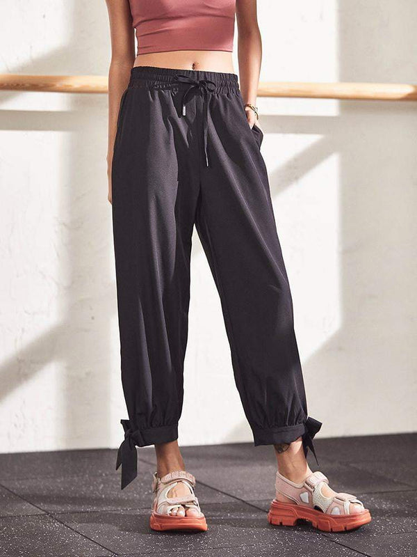 Sloli Capris Stretch Casual Pants