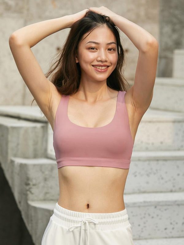 Sloli Backless Style U-neck Sports Bra