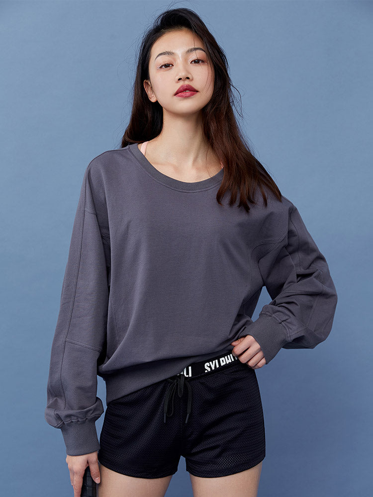 Sloli Crew Neck Women Sweatshirt