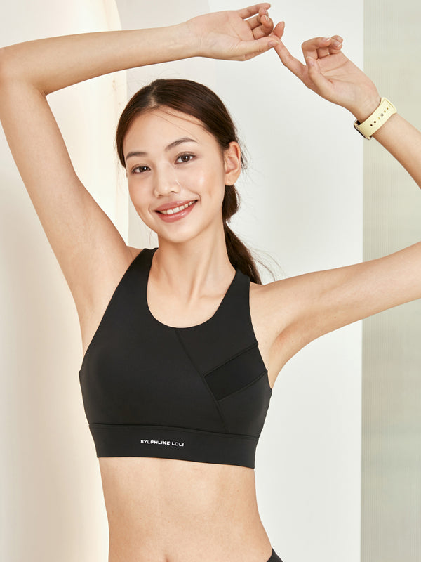 Sloli High Support Sports Bra With Anti-vibration Hook