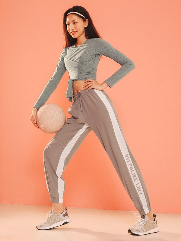 Sloli Breathable Casual Pants Sports Leggings