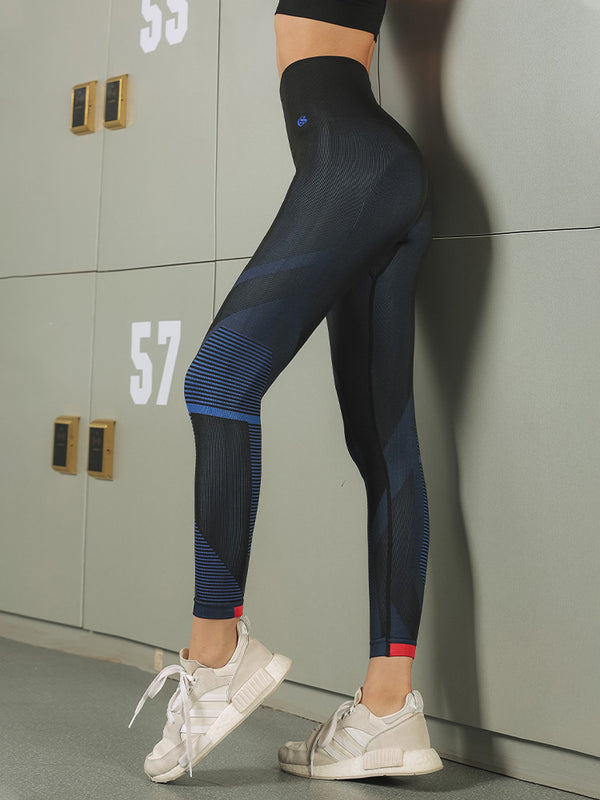Sloli Color Scheme High Waist Leggings