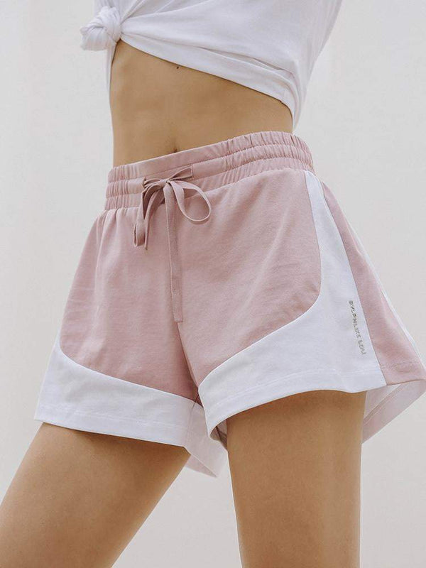 Sloli Elastic Sports Shorts with Drawstring