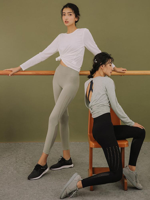 Sloli High Waist Breathable Leggings