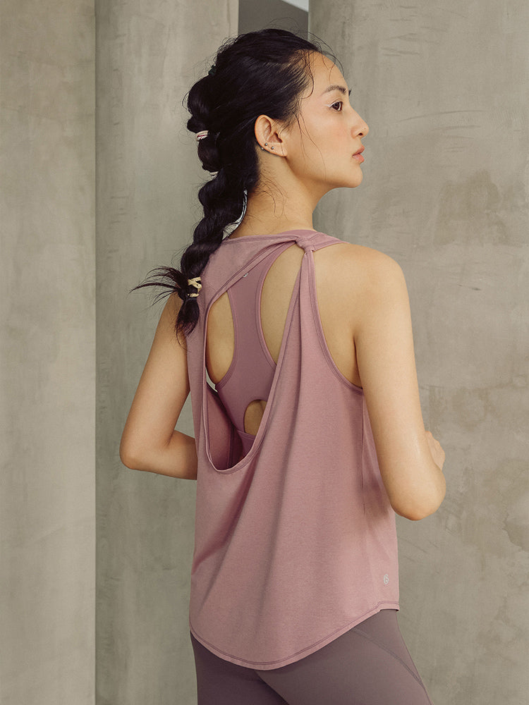 Sloli Backless Breathable Tank Top