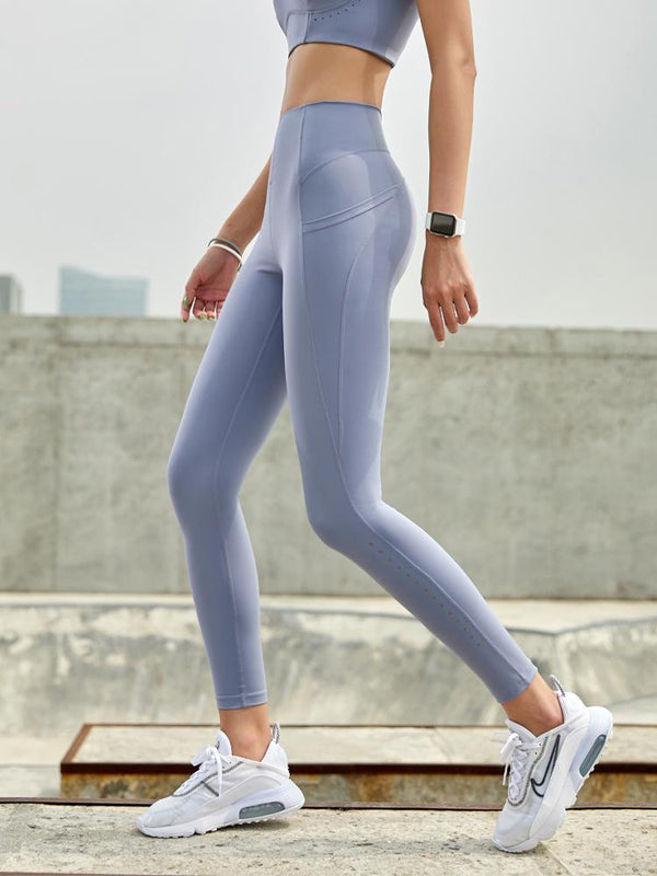 Sloli High Waist Leggings with Pocket
