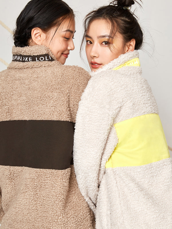 Sloli color scheme Fleece jacket
