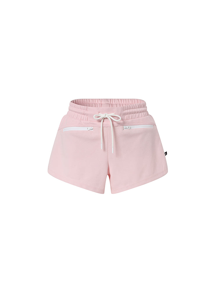 Sloli Sports Shorts with Inner Layer XS / Pink
