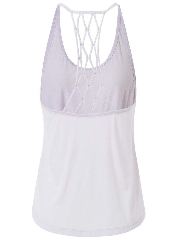 Sloli Crossback Sports Tank top XS / Lighr Purple