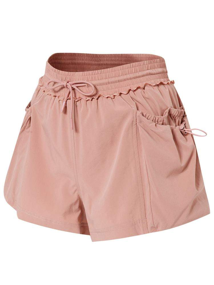 Sloli Sports Shorts with Lace Rims XS / Pink