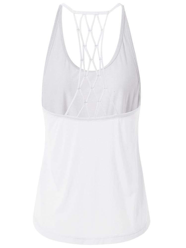 Sloli Crossback Sports Tank top XS / White