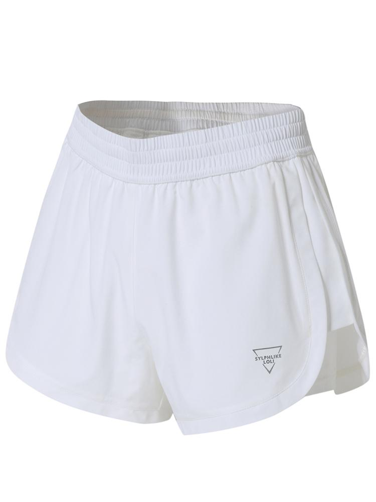 Sloli A-Line Sports Shorts XS / White