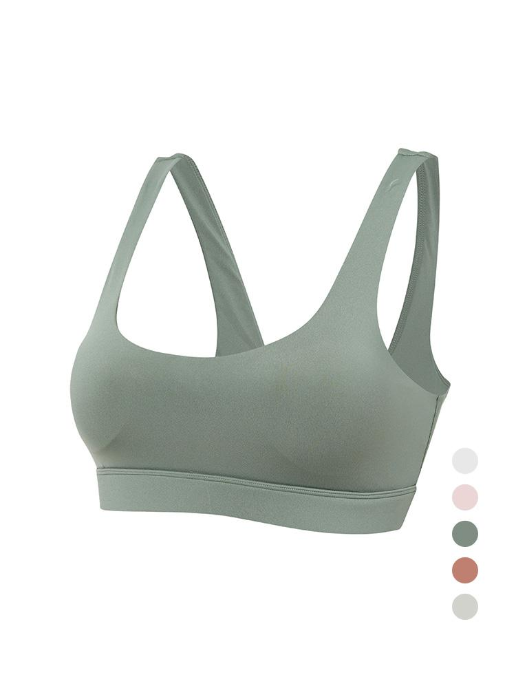 Sloli U-Neck Sports Bra Basic Design S / Green