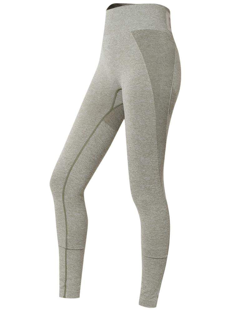 Sloli High Elastic Hip-Up Sports Leggings S / Green