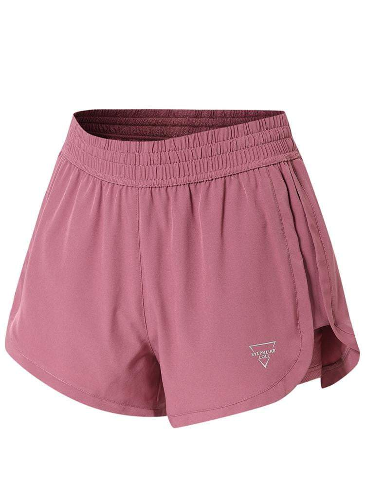Sloli A-Line Sports Shorts XS / Maroon Color