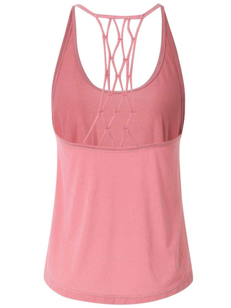 Sloli Crossback Sports Tank top XS / Pink