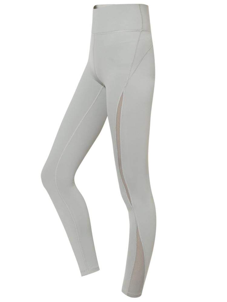 Sloli Capris Breathable Sports Tight XS / Gray