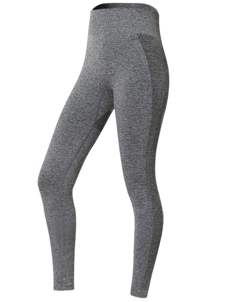 Sloli High Elastic Hip-Up Sports Leggings S / Navy