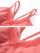 Sloli V Neck Sports Bra for Low Impact Training