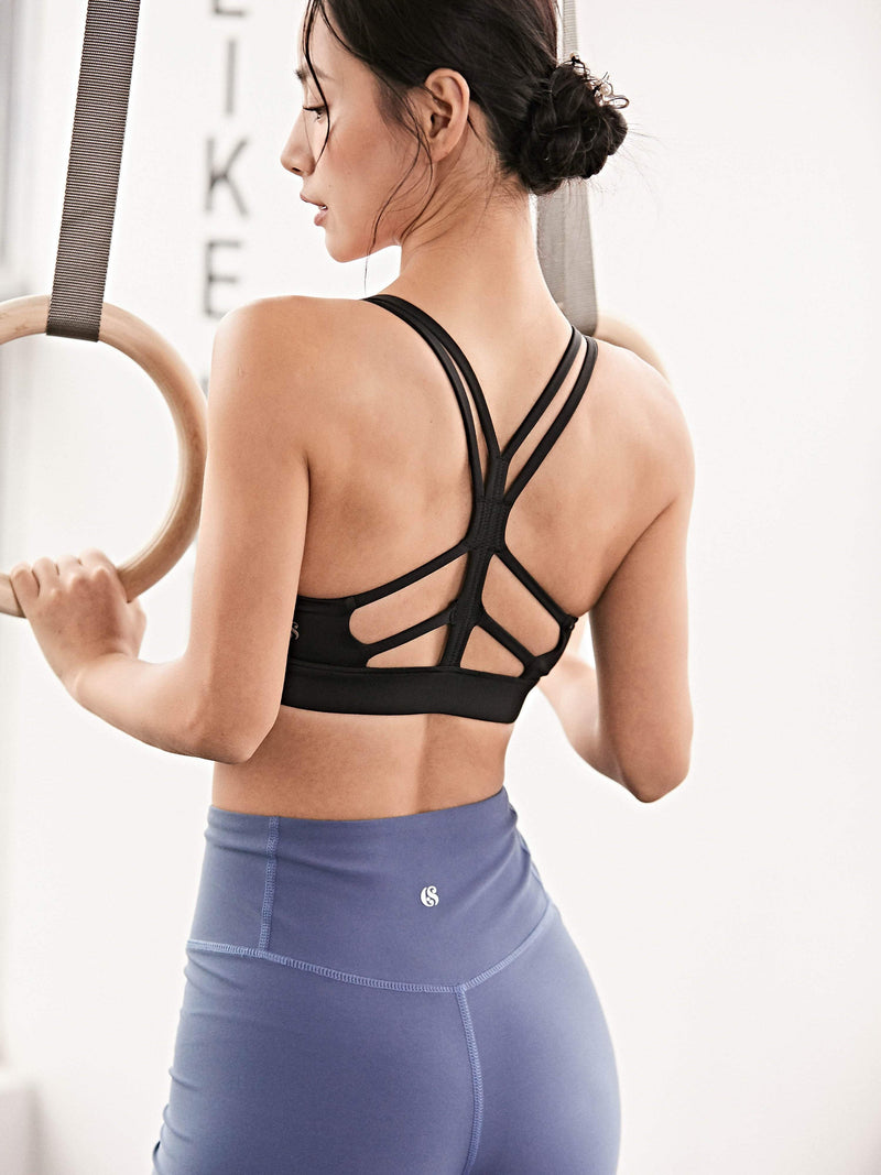 Sloli Beautiful Back Sports Bra for Medium Intensity Trainning