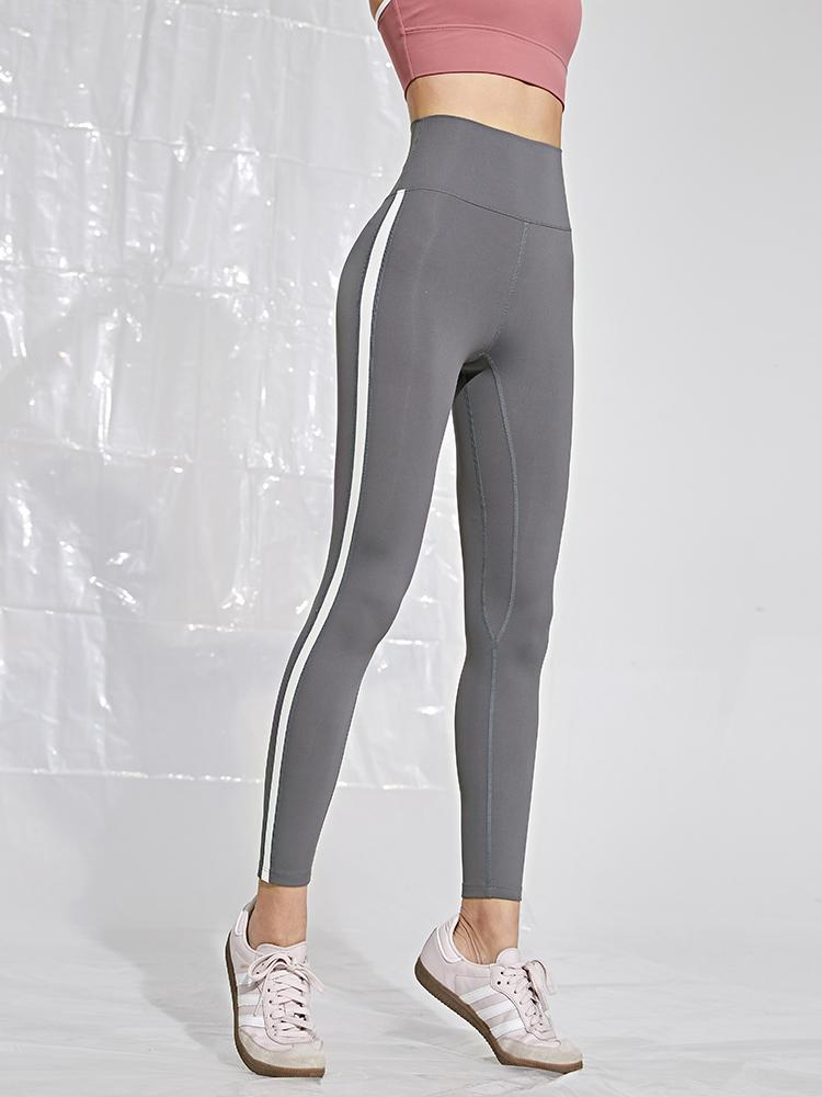 Sloli Color Scheme Stylish Sports Training Leggings