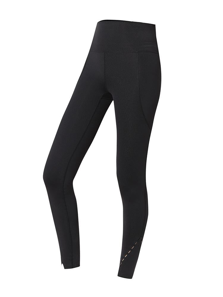 Sloli Fashion Hip Up Yoga Leggings XS / black